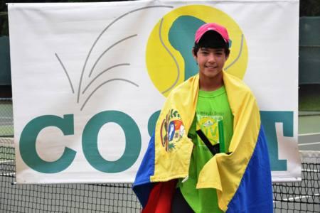 Luis Iriarte ganó la segunda edición de la Copa Mangulina de tenis