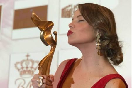 Alexandra Braun ganó premio como Mejor Actriz en Festival de Cine de Mónaco