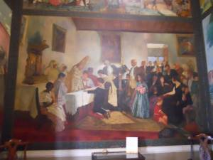 Primera Comunión de Simón Bolívar