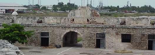 Dentro del Castillo de San Felipe