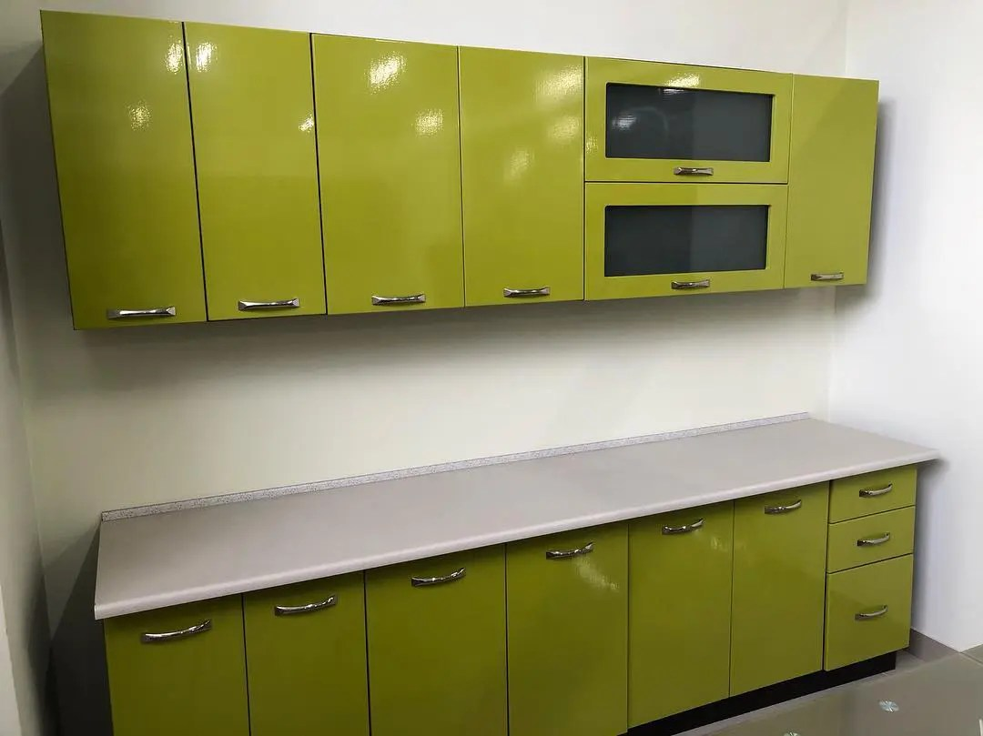 Гамма кухня МДФ Глянец  (Мебель Сервис)
