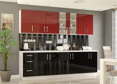 Гамма кухня ДСП Лак  (Мебель Сервис)