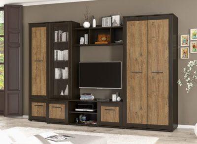 стенка конго дуб април купить мебель со склада