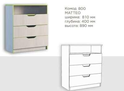 Комод Маттео Феникс