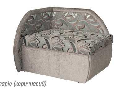 Петрусь диван раскладной (Мебель Сервис) онтарио коричневый