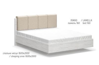 Ким кровать 160 (Мебель Сервис)