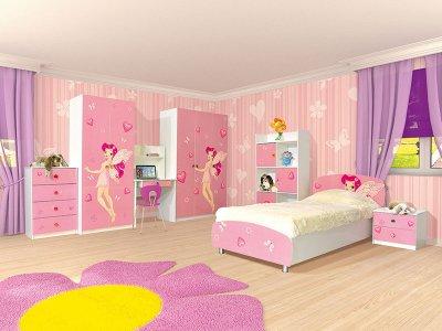 детская комната мульти фея