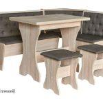 Кухонный уголок мягкий Мебель Сервис