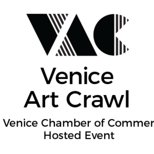 Venice Art Crawl Logo 1 Color/Mono