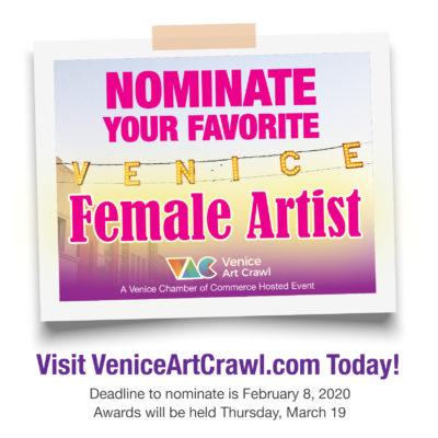 Image: Venice Female Artist Awards