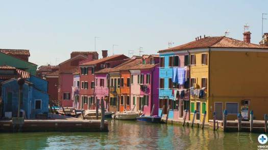 Burano - the most colorful island of Venice
