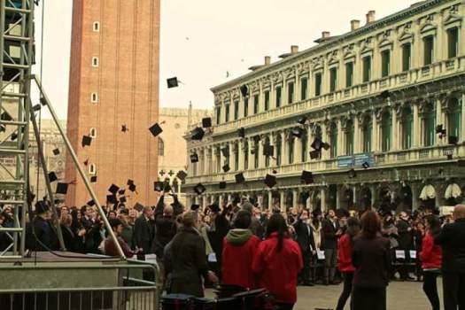 graduation in Venice