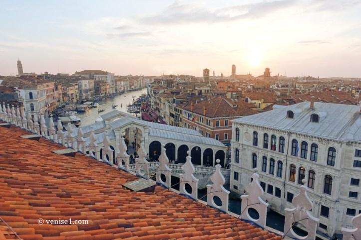 Que voir et visiter à Venise vue terrasse