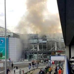 Brussels Airport Hit By Explosions