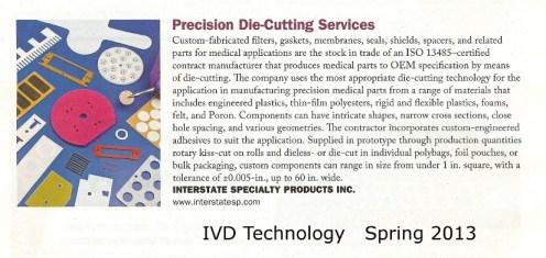 IVD Technology Spring 2013