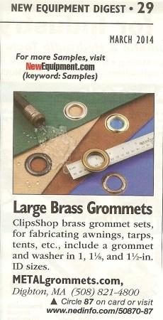 Metal Grommets Clip 001