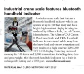 Alliance- Material Handling Network