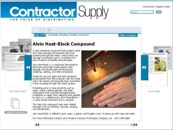 Alvin Heat-Block Compound - Contractor Supply Magazine