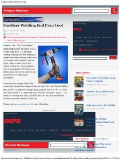 Esco Cordless Welding End Prep Tool_Page_1