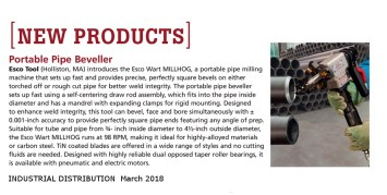 Esco Industrial Distribution 3-18