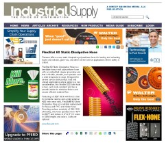 Flexaust-FlexStat 60 Static Dissipative Hose - Industrial Supply Magazine