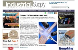 Flexaust Flx-Thane polyurethane hose - Industrial Supply Magazine