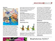 Laser Research- Biophotonics Sept. 2017