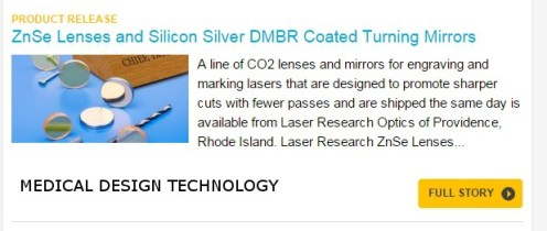 Laser Research Optics-Medical Design Tech. online