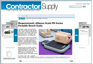 Measurement_ Alliance Scale PB Series Portable Bench Scale - Contractor Supp