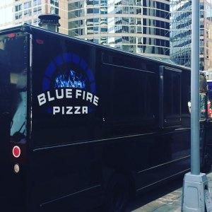 BLUE FIRE PIZZA - Food Truck @ Venn Brewing Company