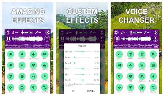 Voice Recorder – Editor Effect