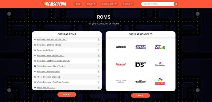 Romsopedia