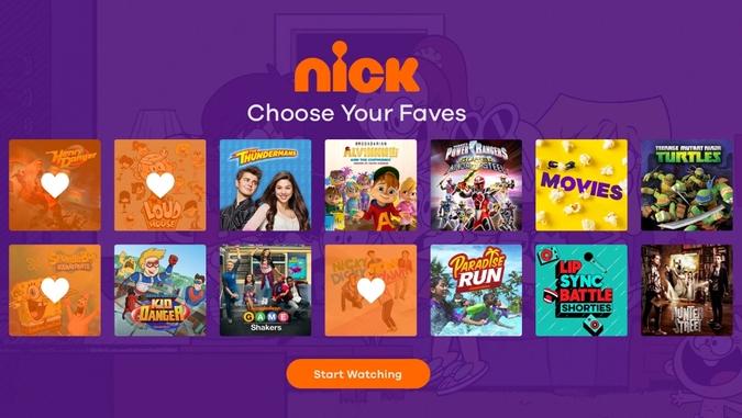 Nickelodeon Websites Like CartoonCrazy