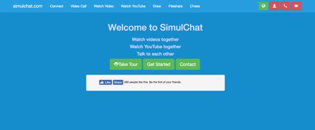 Simulchat site like rabbit