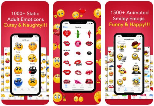 Adult Emoji Animated Emoticons