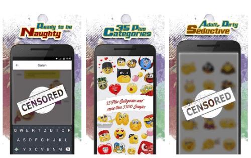 Adult emojis - Dirty Edition Free