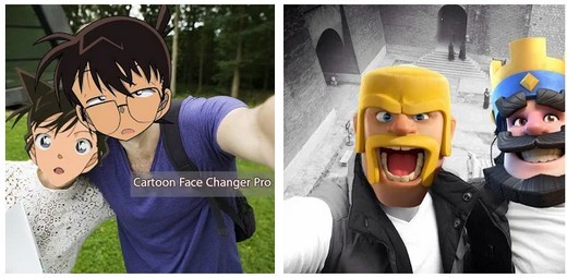 Cartoon Face Changer