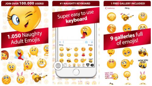 Flirty Dirty Emoji for iphone