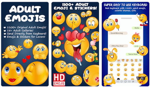 adult emojis for lovers