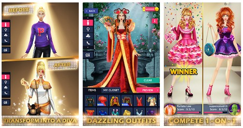 Dress Up Games Stylist - Fashion Diva Style