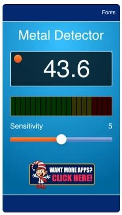 Metal Detector Free App - Security Scanner