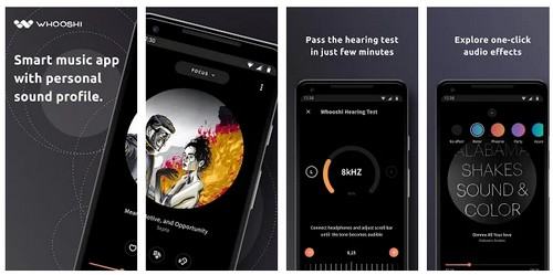 Whooshi – Offline Music Player App for android ios