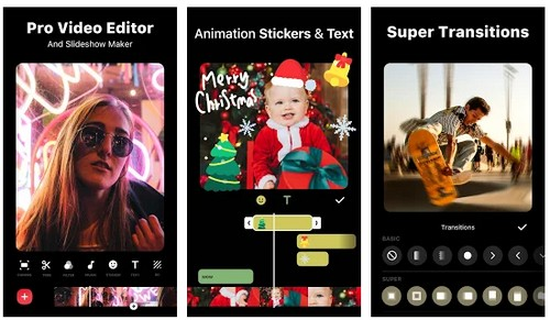 inshot video editor and video maker apps like flipagram