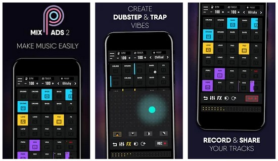 MixPads 2 Dubstep Drum Pads Dj