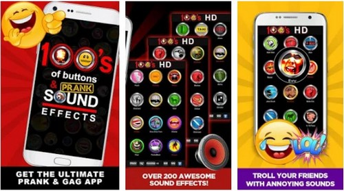 100 Buttons Sound Effects app