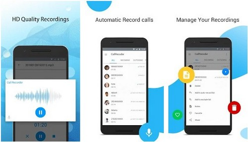 Automatic Call Recorder apps