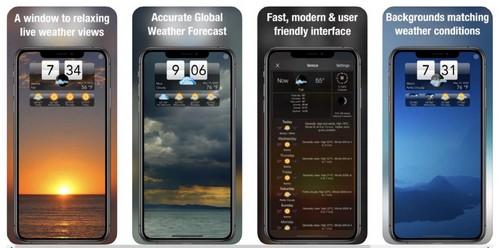 Living Weather HD app