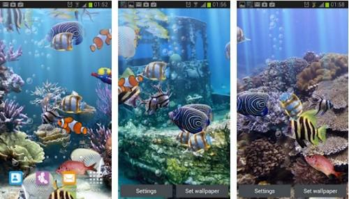 The Real Aquarium screen saver app