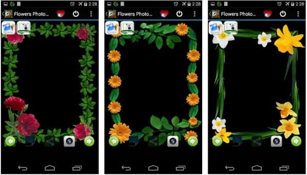 Flowers Photo Frames