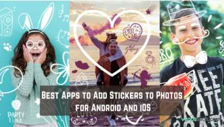 Apps to Add Stickers to Photos